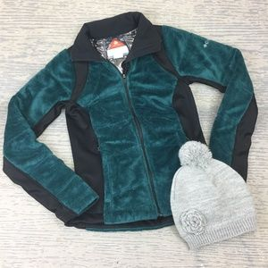 Like NewColumbia thermal comfort omni green jacket
